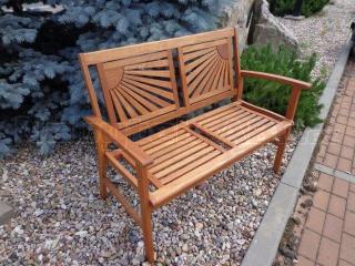 Zahradní lavice dřevěná AD 03077F