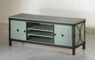 Televizní stolek, smrk 150 x 59 x 52 cm