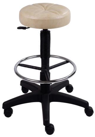 Taburet - pracovní židle NORA (s aretačním kruhem)