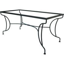 Kovový stůl VERSAILLES 152 x 72 x 85 cm