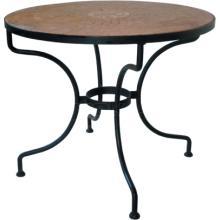 Kovový stůl ST. TROPEZ Ø 90 cm pro desku Ø 110 cm