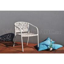 Zahradní židle NEST (bílá)