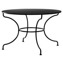 Kovový stůl MONTPELIER velký Ø 110 cm pro stolovou desku Ø 110 cm