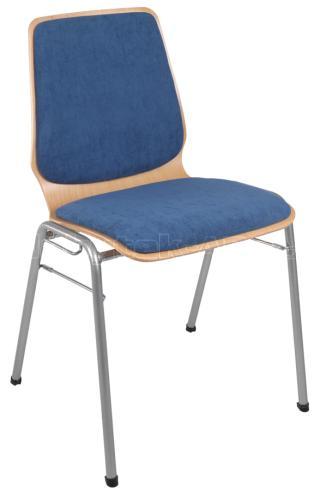 Konferenční židle KAMILA (šedá konstrukce)
