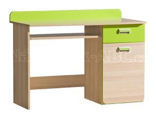 LIMO L10 pracovní stůl, zelený