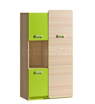 LIMO L5 kombinovaná skříňka, zelená