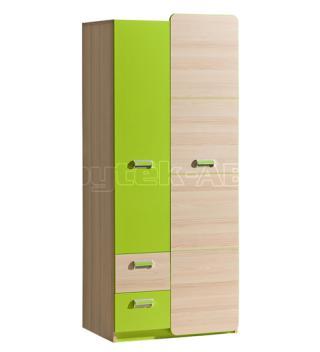 LIMO L1 šatní skříň, zelená