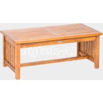 Teakový konferenční stolek ROSALINE I, 65x120 cm