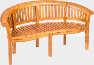 Teaková zahradní lavice FABIO š. 165cm