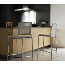 Židle FLY RE H 65 (ocel, síťovina), barová