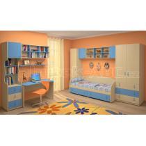 Dětský nábytek MIA - sestava č.2 modrá