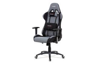 Kancelářská židle s područkami, KA-F01 GREY