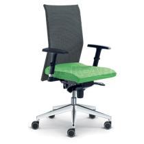 Kancelářská židle WEB OMEGA, 405-SY, F80-N6, hliníkový kříž
