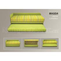 Rozkládací pohovka s úložným prostorem MAGDA