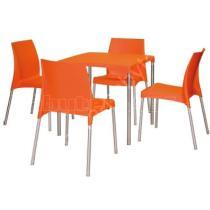 Sestava BOULEVARD, plast  barva arancio