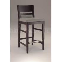Barová židle LEUVEN 410, čalouněná, buk