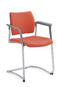 Jednací a konferenční židle DREAM 131/B-N1, konstrukce černá, područky