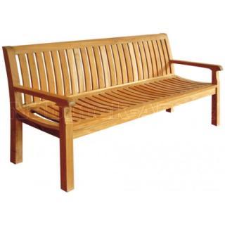 Teakové zahradní lavice PIETRO š. 180 cm