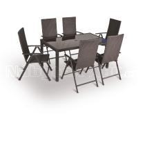 Zahradní nábytek - Sestava VALENCIA set 6-AL 150x90cm