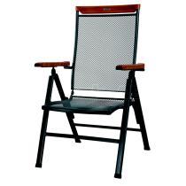 Zahradní židle CHIGOS SITIO - dřevěné područky (kód 8218)