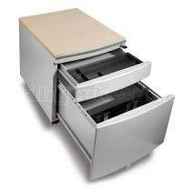 Pojízdný kontejner pro stoly PROFI 3 s laminovou sedací plochou