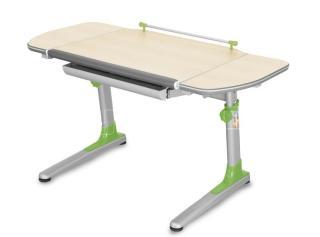 Rostoucí dětský stůl  PROFI 3, provedení TEEN'S WINGS, zelené umělohmotné díly