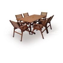 Zahradní nábytek-Sestava MONROE COMBI set 6, 150x90cm