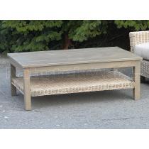 Konferenční stolek, masiv mango, 40x111x67 cm