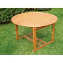 Zahradní stůl kulatý rozkládací QTC 1164 Ø 120cm