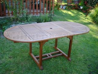 Zahradní stůl rozkládací QTC 47087