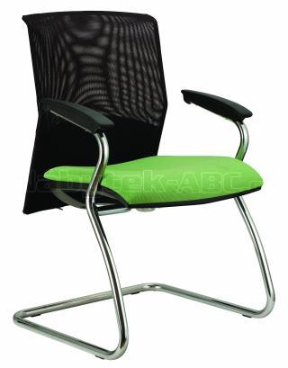 Jednací kancelářská židle (křeslo) REFLEX Prokur síť