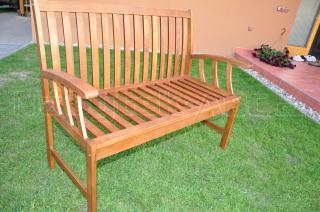 Zahradní lavice dřevěná AD 23031