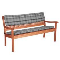 Opěrka na lavici dvoumístná, 110x30x6 cm
