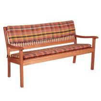 Podsedák na lavici, třímístný, 150x45x6 cm
