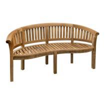 Teaková zahradní lavice OMEGA 152 cm