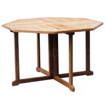 Zahradní teakový stůl GENIUS, 90x90 cm