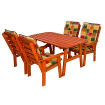 Zahradní nábytek - Sestava ANETA 150x80cm