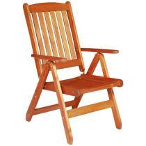 WÖRTHERSEE - zahradní židle - křeslo polohovací