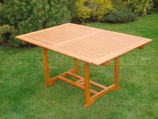Zahradní stůl rozkládací QTC 47093  200/300x100cm
