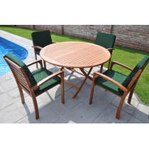 Zahradní nábytek - Sestava TESTUDO průměr 130cm