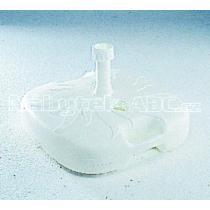 Stojan plastový plnitelný vodou, bílý, 20 litrů