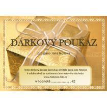 Dárkový poukaz na zboží www.Nábytek-ABC.cz hodnota 6.000,-Kč