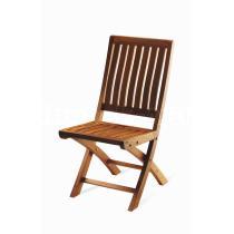 Teaková skádací zahradní židle NOEMI