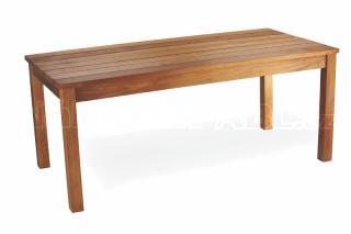 Teakový zahradní stůl GIOVANNI, 90x180cm