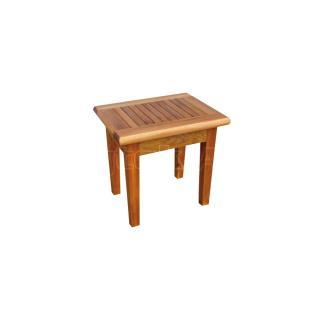 Teaková zahradní stolička PAOLO, 50x50x45cm