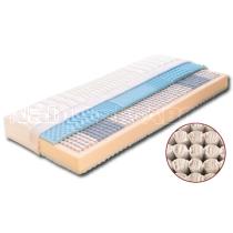 Taštičková matrace DENISA s potahem z úpletu 200 x 160 x 22 cm