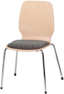 Jídelní a kuchyňská židle ARNO B - čalouněný sedák