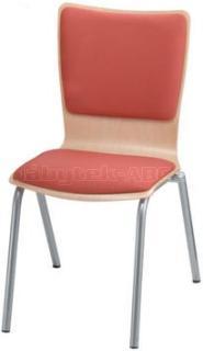 Jídelní a kuchyňská židle SIMONA - čalouněná, bez područek