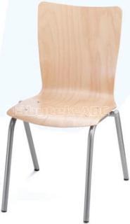 Jídelní a kuchyňská židle SIMONA - dřevěná, bez područek