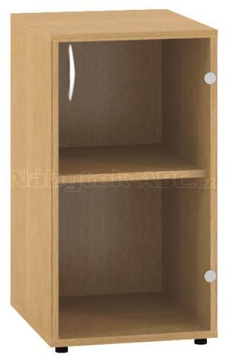 Kancelářská skříň OfficePlus 400x458x735, dveře pravé